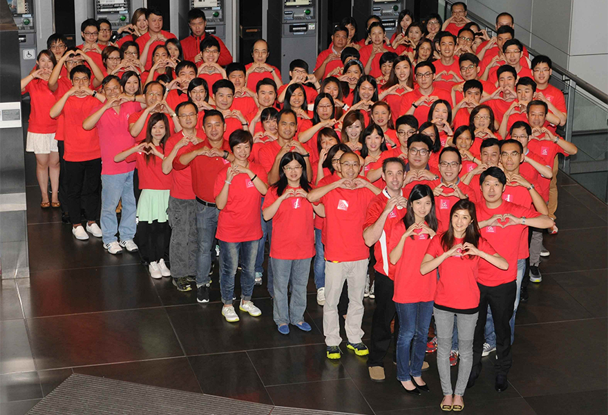 Chiến lược Marketing của HSBC-Tổ chức các hoạt động xã hội